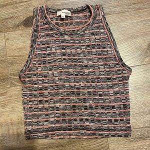 Aritzia knit tank top